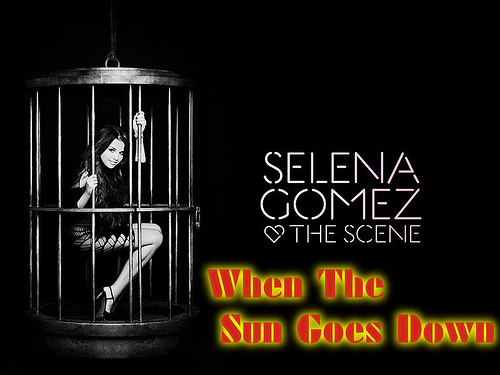 """""""When The Sun Goes Down"""" ~Fanmade Single Cover~"""