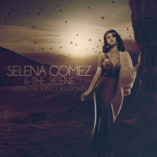 """When The Sun Goes Down"" ~Fanmade Single Cover~ - When The ..."