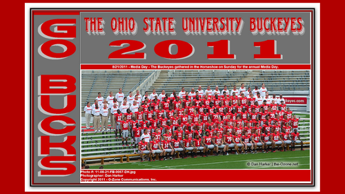 2011 OSU BUCKEYES FOOTBALL TEAM