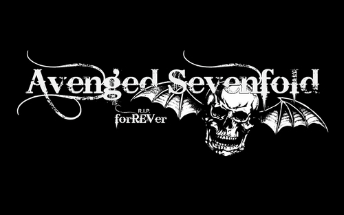 Avenged Sevenfold wallpaper with a sign entitled A7X FoREVer