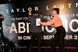 Abduction's Melbourne Premiere with Taylor Lautner