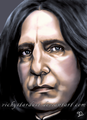Airbrush - severus-snape fan art