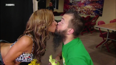 Aj Lee and Hornswoggle
