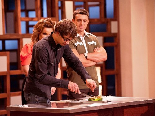 "Alex at the Ukrainian TV-show ""MasterChef"" :)"