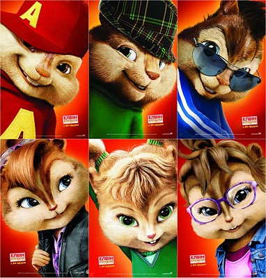 The Chipettes wallpaper called Alvin and the Chipmunks