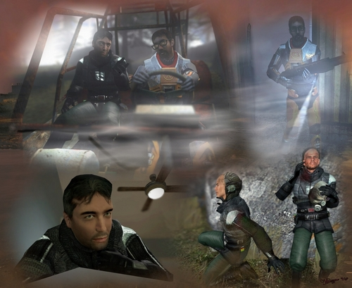 Half Life wallpaper probably containing a navy seal, a green beret, and a rifleman called Ambushed - Renegades I