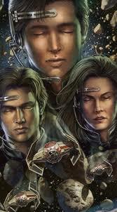 Anakin Solo and Jaina and Jacen