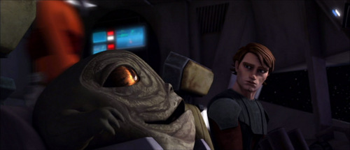 Anakin and Rotta the Huttlet