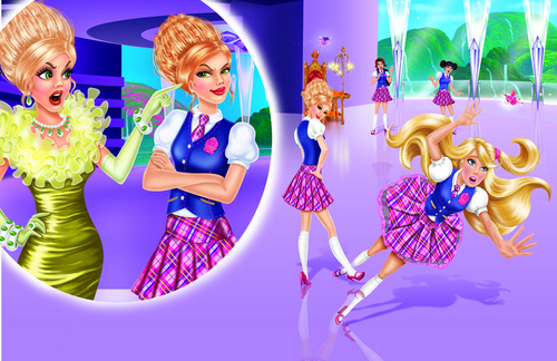filmes de barbie wallpaper titled barbie princess charm school