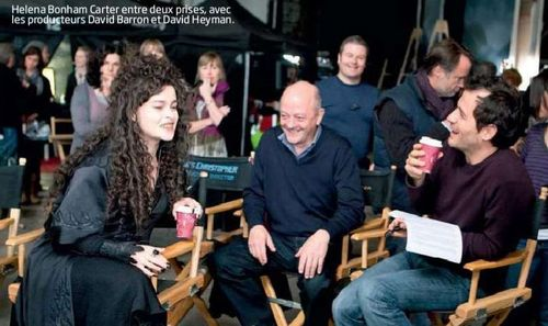 Behind The Scene Pics. from Deathly Hallows Part 2