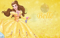 Belle - beauty-and-the-beast wallpaper