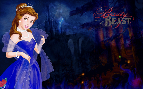 Belle in blue