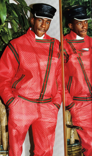 Bobby Brown in Gucci