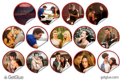 Breaking Dawn Stickers on GetGlue