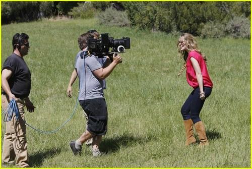 Bridgit Mendler: 'We Can Change The World' Video Shoot!