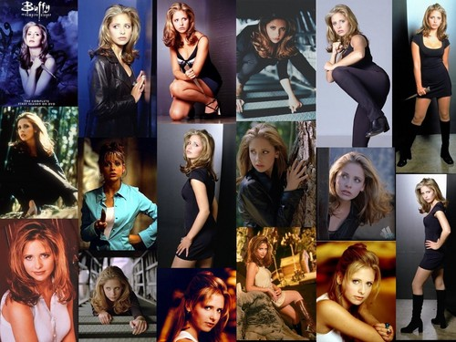 Buffy Summers wallpaper possibly containing anime called Buffy Season 1