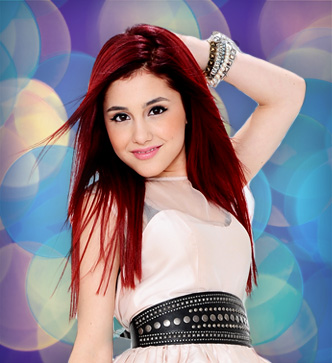 Victorious wallpaper probably with attractiveness, a bustier, and a cocktail dress entitled Cat Valentine