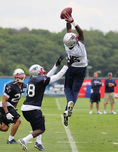 Chad Ochocinco 2011 Preseason Patriots