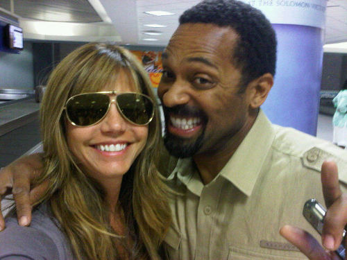 Charisma Carpenter & Mike Epps