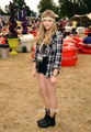 Chloe Moretz backstage at V Festival  - chloe-moretz photo