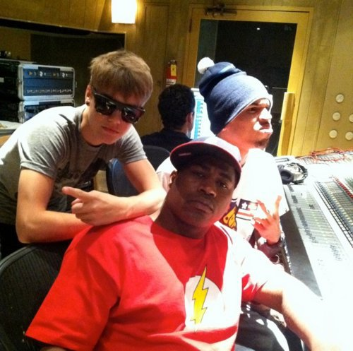 Chris And Justin in the STUDIO !!
