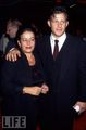 Costas and his Mom - costas-mandylor photo