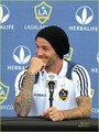 David Beckham Welcomes Robbie Keane to L.A. Galaxy