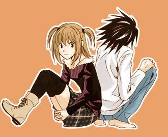 Death Note ~ L x Misa