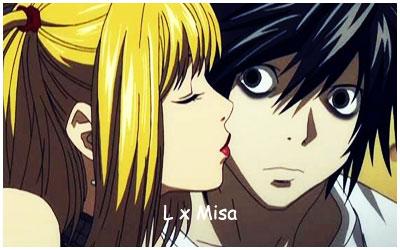 Death Note ~ एल x Misa