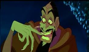 Disney Villains-Rasputin from Anastasia