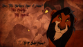 Does This Darkness Have A Name? - the-lion-king wallpaper