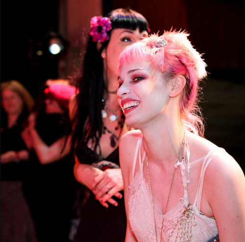 Emilie Autumn wallpaper probably with a bridesmaid and a bouquet called Emilie Autumn