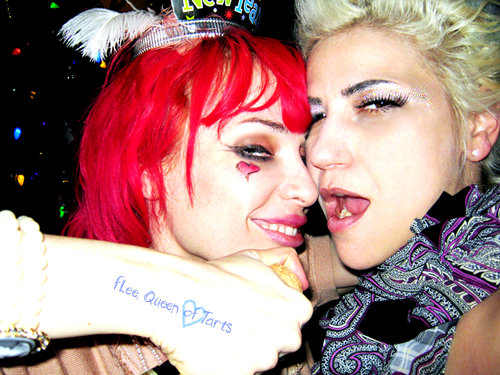 Emilie Autumn wallpaper titled Emilie Autumn with fLee