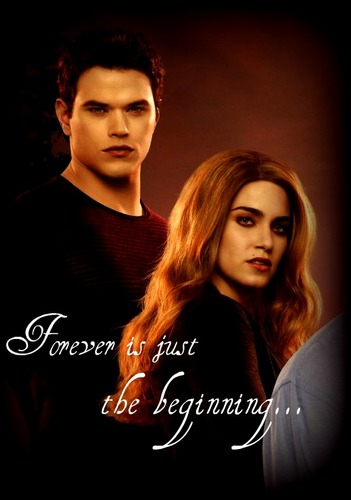 Emmett and Rosalie-Forever is just the beginning