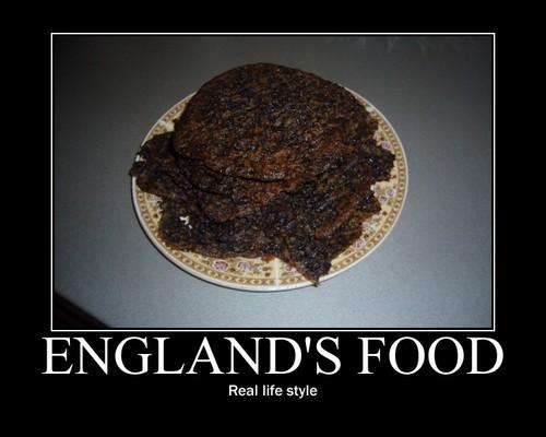 England's 음식