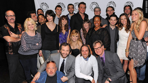 Freaks and Geeks images Cast & Creators @ Freaks & Geeks/Undeclared Reunion - 2011 wallpaper and background photos