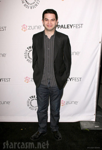 Freaks and Geeks wallpaper containing a business suit entitled Samm Levine @ Freaks & Geeks/Undeclared Reunion - 2011