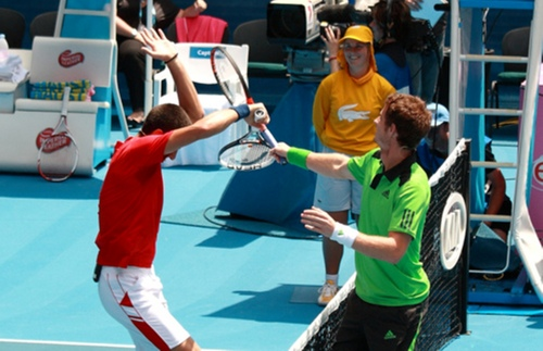 FUNNY ACTION WITH MURRAY !!!!!!!!!