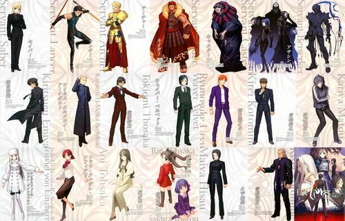 Fate Zero cast