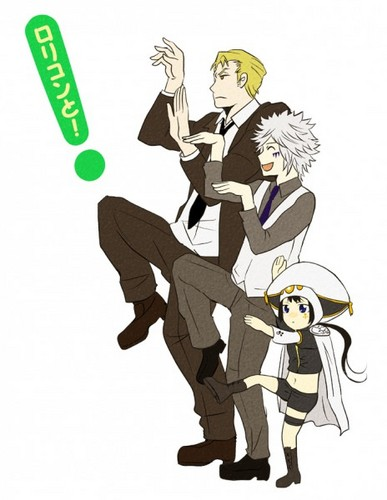 Gamma, Byakuran and Yuni