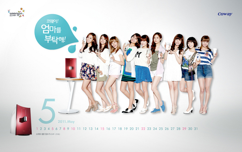 Girls' Generation Coway