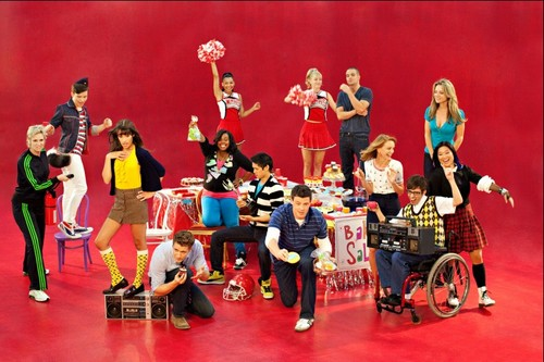 Glee wallpaper entitled Glee New Promo Pictures
