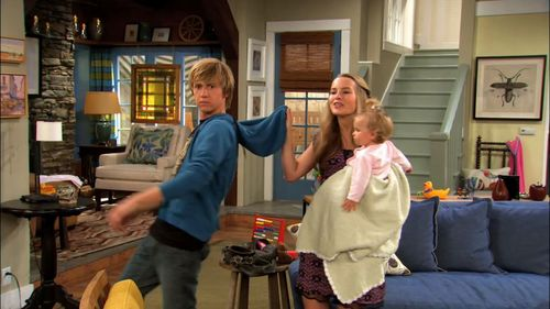 Good Luck Charlie Wallpaper Probably With A Drawing Room, A Living Room,  And A Part 87