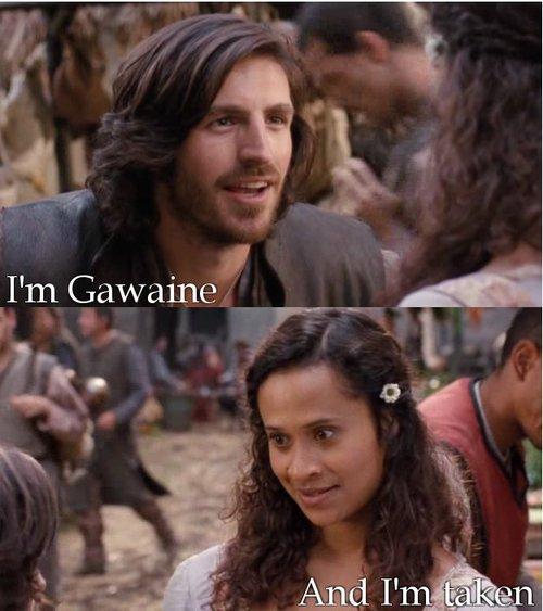 arthur and gwen first meet