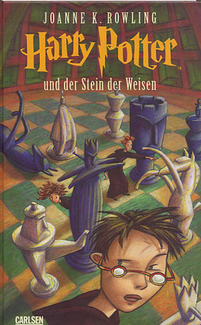 Harry Potter and the Philosopher's (Sorcerer's) Stone: Germany