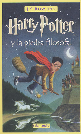 Harry Potter and the Philosopher's (Sorcerer's) Stone: Spain
