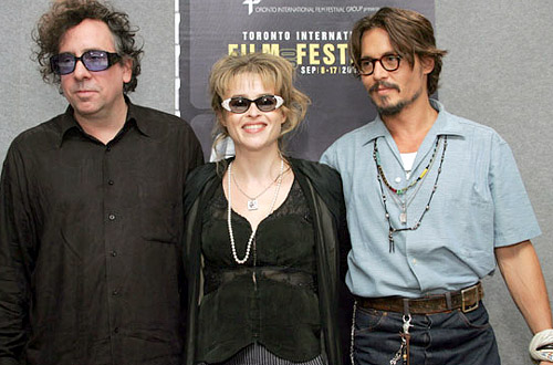 Helena&Tim - helena-bonham-carter-tim-burton Photo