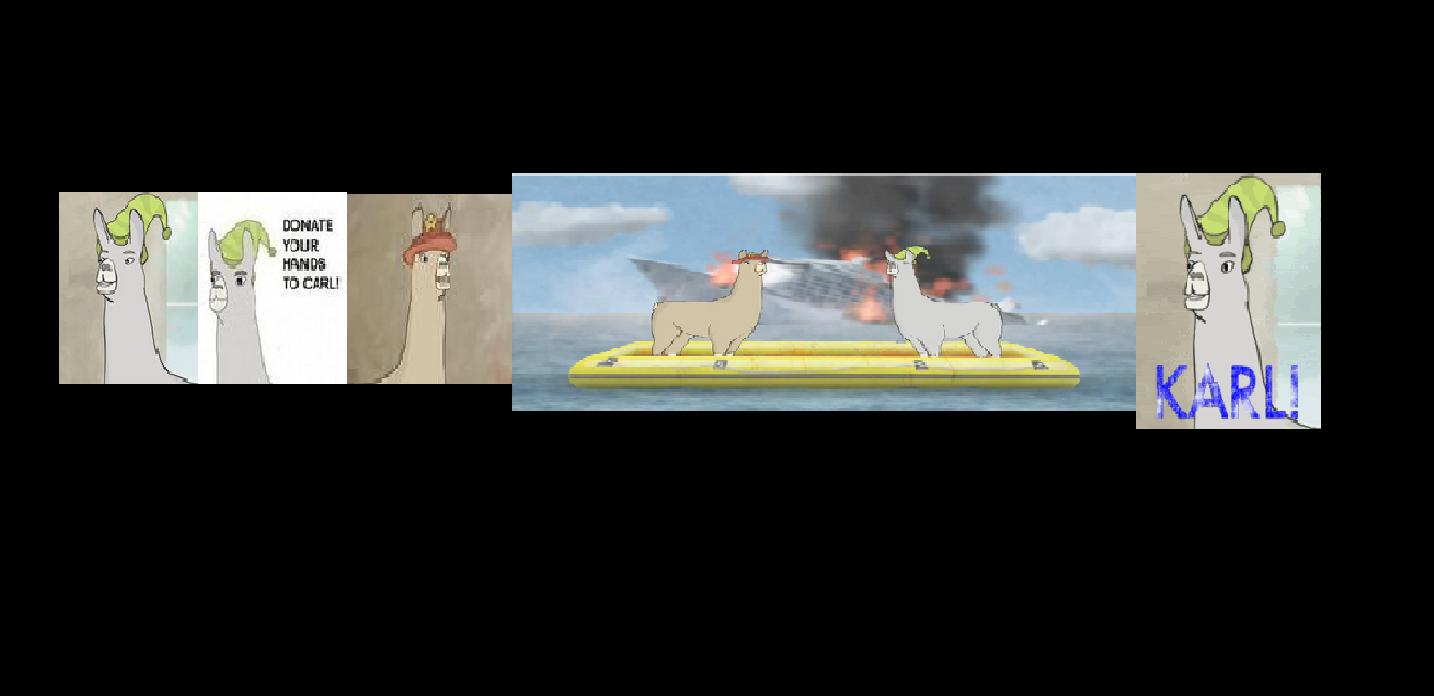 Pin carl llamas with hats on pinterest