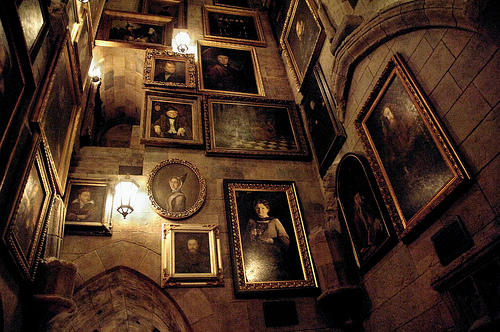 Hogwarts Walls