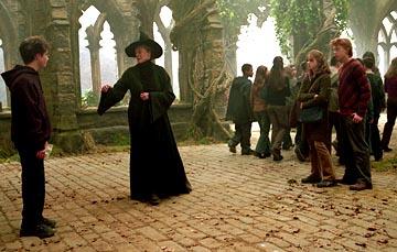 Minerva McGonagall and Harry